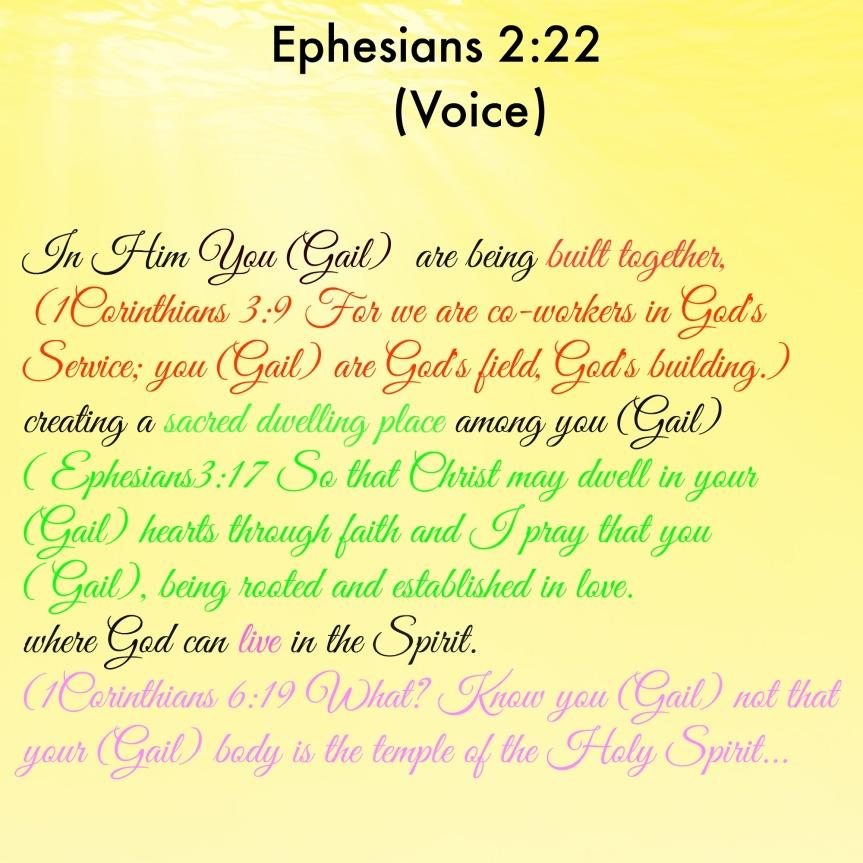 Ephesians 2:22